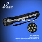 LED solar torch / solar flashlight