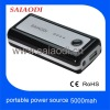 5v 5000mah rechargeable external battery charger mobile phone