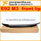 Carbon fiber E92 M3 front lip fit E92 M3 Bumper or BMW