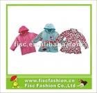 2012 Gril's PU And PVC Fashionable Design Raincoats