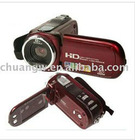 Hot-sell Digital Video Camera Camcorder HD DV 12MP 8X Zoom 2.7 TFT LCD Screen free shipping In Original Box
