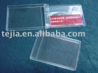 PS transparent name card case