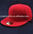 flat peak baseball cap