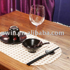Anti-slip Printed Place Mat,dining mat,dining table mat