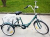 """24"""" Rickshaw Shopping Tricycle"""