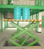 Working platform scissor lift for workshop
