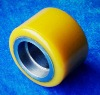 PU wheels for machinery transport roller dollies,transport dollies