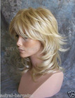 Multi Layers Medium Length Full Lace Wig
