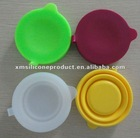 Colorful and Eco-friendly silicone collapsible cups for drink
