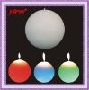 Battery color changing magic round Candle