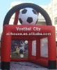 popular inflatable football toss/infaltable sport