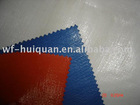 220gsm orange and blue polyethylene tarpaulin for covering