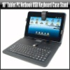 "10"" Tablet PC Netbook USB Keyboard Case Stand, YAN116A"