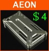 for iPhone metal case,Aluminum case for iPhone 4,CNC Cutting,stock clear price,retail package