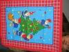 christmas printed table cloth