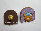 custom bear kids lapel pins