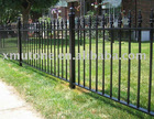 Wrought iron vertical type stair fence