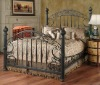 deluxe wrought iron bed
