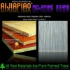 melamine wood grain paper laminated mdf board