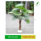 JYPF140 Mini artificial Fan Palm tree for house decoration