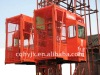SC100/100 Load 1ton double cages construction lifter