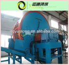 Different capacities tyre processing equipments