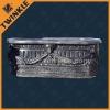 Carved Black Marble Bathtub