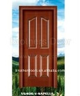 moulded door skin veneer V6406-V-SAPELI from www.brotherdoors.com