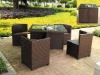 Outdoor rattan chair