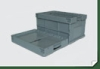 fold able plastic box (JD6040/32)