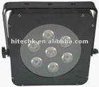 LED flat par 7*3W RGB 3in1 LED PAR