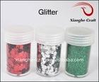 glitter sparkles for scrapbook embellishment