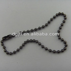 Fashion metal lead free ball chain