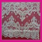 The latest design chiffon fabric flower lace trim,use for dress decoration