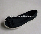 2012 spring most fashional lady's casual flat shoes