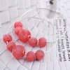 Wire Line Ball Hook Shamballa Earring Hook earring