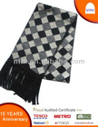 2013 new style man's scarf with tassels