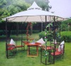 outdoor metal frame big folding gazebo tent 3mx3m
