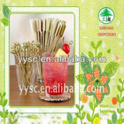 Hot sell Green skin TIANLE bamboo fruit forks