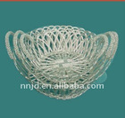 good quality wire fruit basket and food tray
