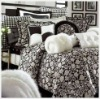 100%cotton reactive printed bedding sets
