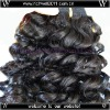100% Chinese virgin human hair machine made hair wefts wholesale Sexy Wave