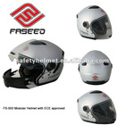 New abs modular helmet with ECE approved and intergrated sun visor FS-503
