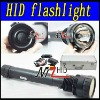 35W/45W/65W HID Flashlight ,6000LM ,6600MAH Battery