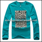 Long sleeve t shirt printing