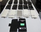 rechargeable backup Battery Case for iphone5 2600mah
