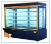 Vertical refrigeration display cabinets