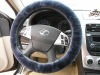 100% Genuine Australian Lambskin Steering Wheel Cover