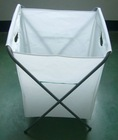 PEVA fabric foldable laundry basket