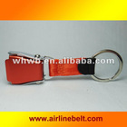 Fashionable Orange color Airline buckle key chains